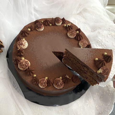 Choco Raspberry Cake
