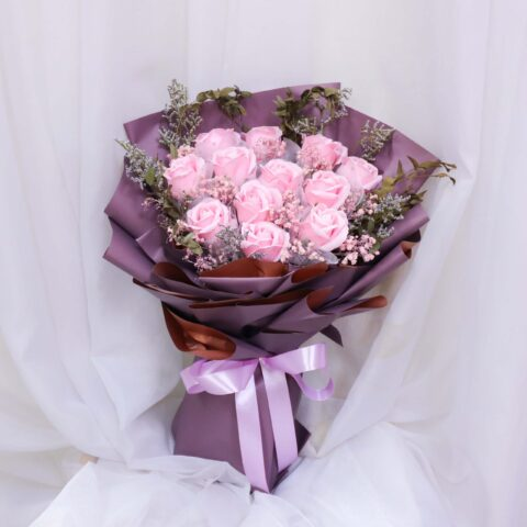 Coral flower by by Vin Florist