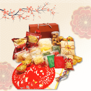 Yee Sang gift set with details