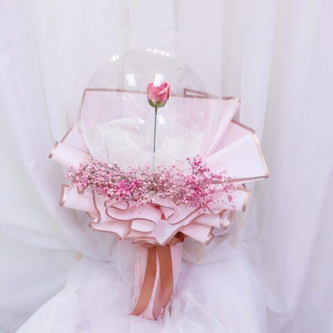 Soap rose in da ball flower by Vin Florist