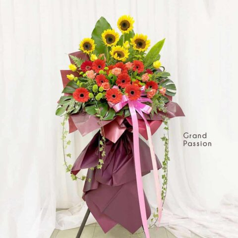 Flower Stand - Grand Passion