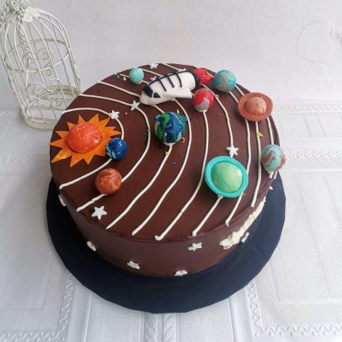 Customized Cake - Solar System