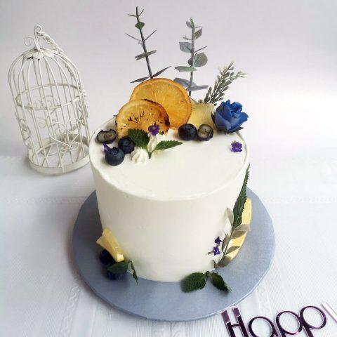 Customized Cake - Citrus Forest