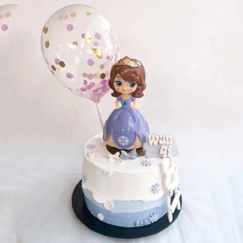 Princess - Customized Cake