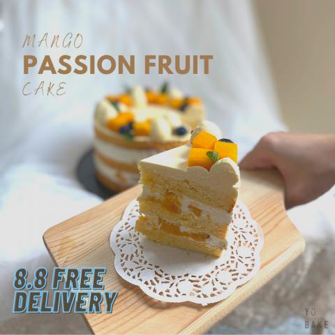 Mango Passion Fruit Cake1