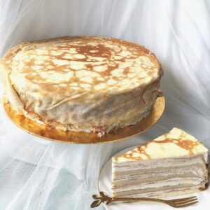 Durian Mille Crepe Whole Cake