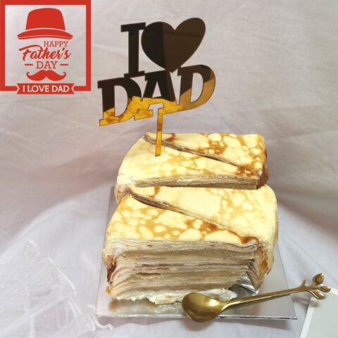i love dad durian box