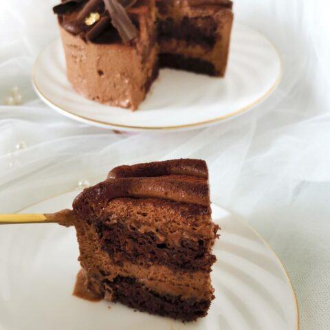 Mystery Dark Choco Cake