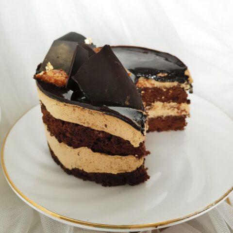 Nutcrack Mocha Almond Cake