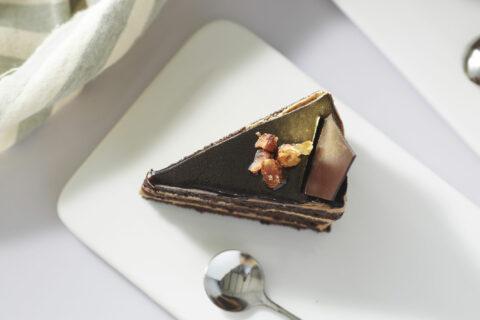 Nutcracker Mocha Almond Cake